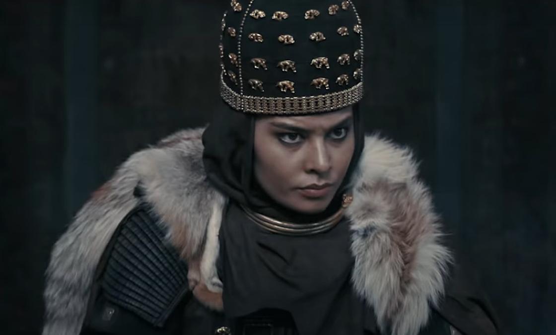 Альмира Турсын в образе царицы Томирис