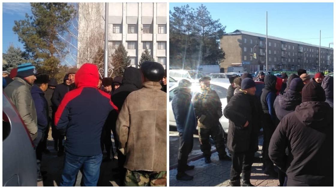 Кыргызские водители пожаловались на казахстанских гаишников