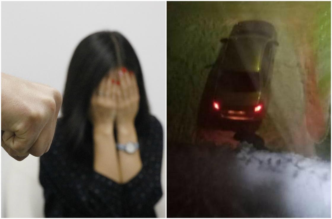 Мужчина избил девушку на улице и увез на авто в неизвестном направлении в Темиртау