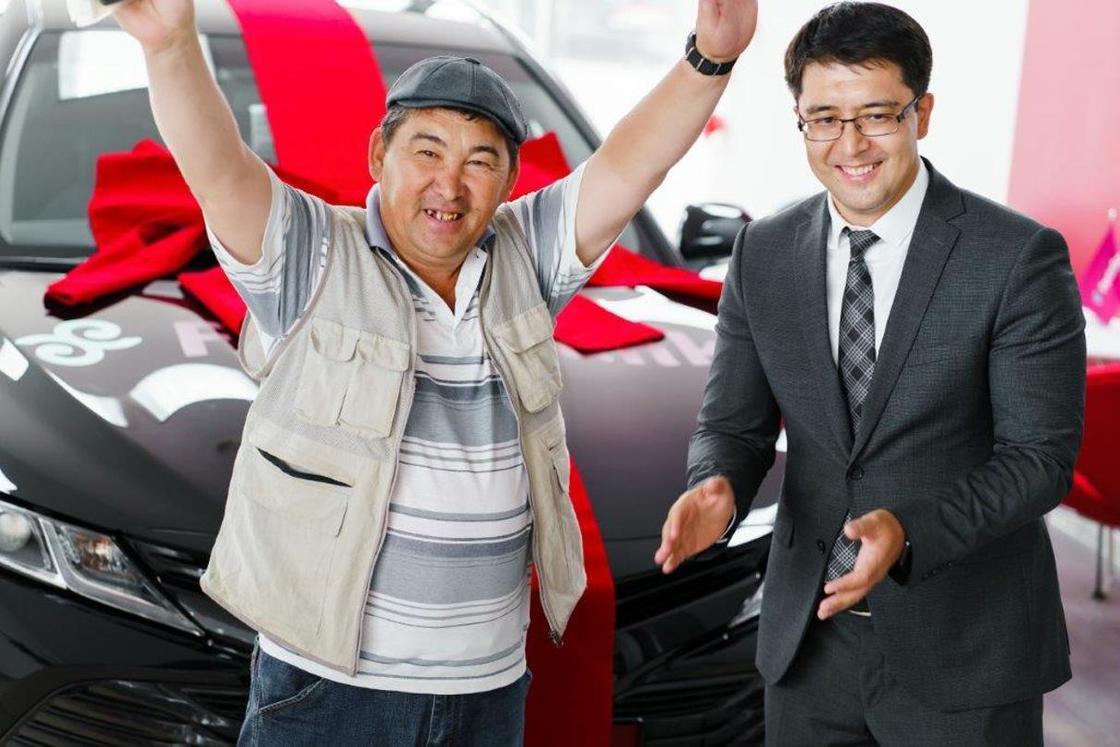 Невероятно! ForteBank еще раз запустил розыгрыш автомобилей Тойота Камри 70