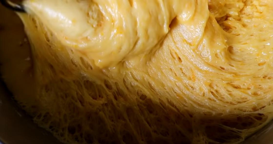 Тесто на пасхальный кулич