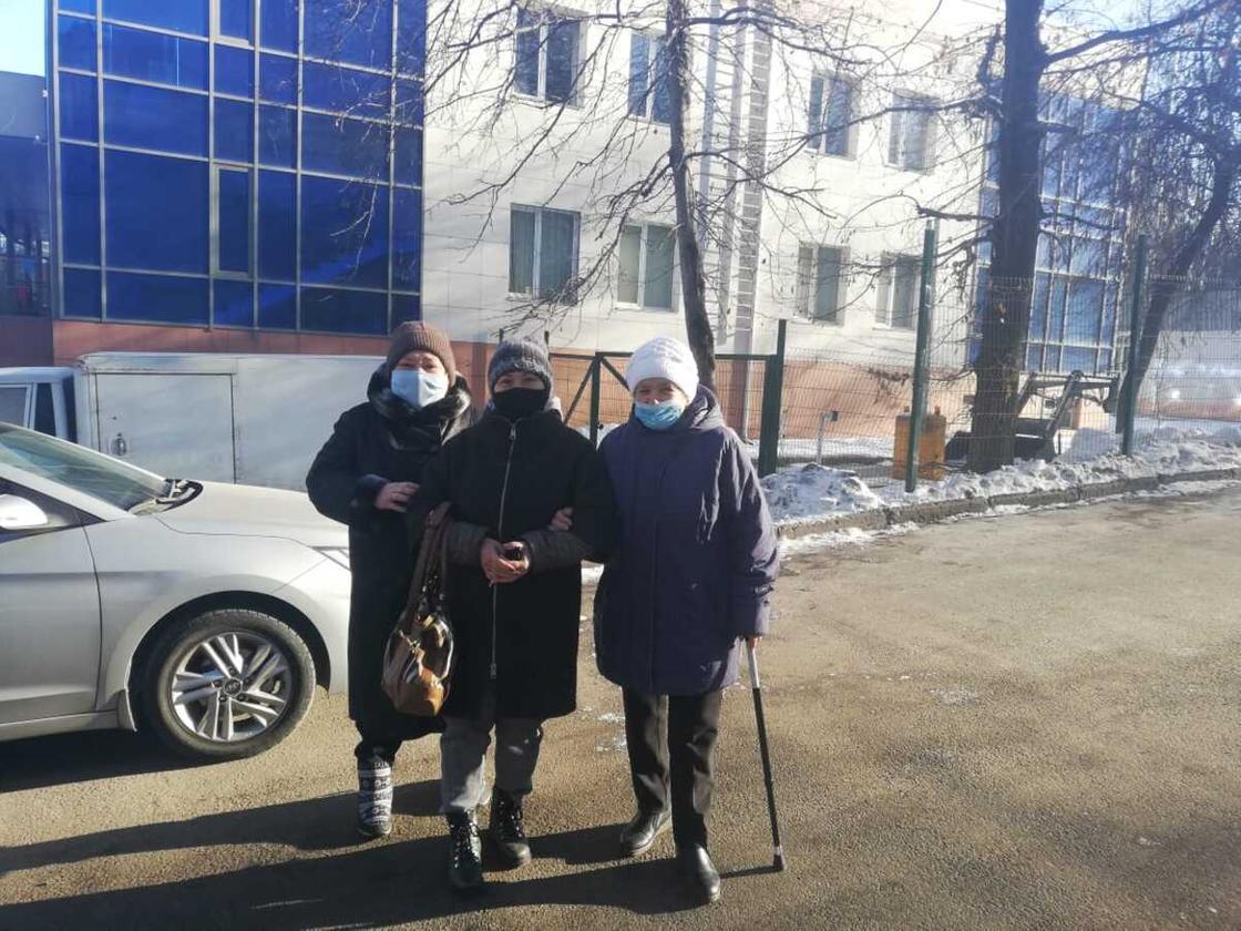 Алматы тұрғындары сайлаудан қайтып барады