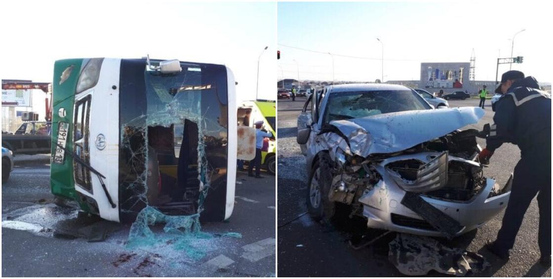 Руководство администратора судов попало в смертельное ДТП с автобусом в Шымкенте