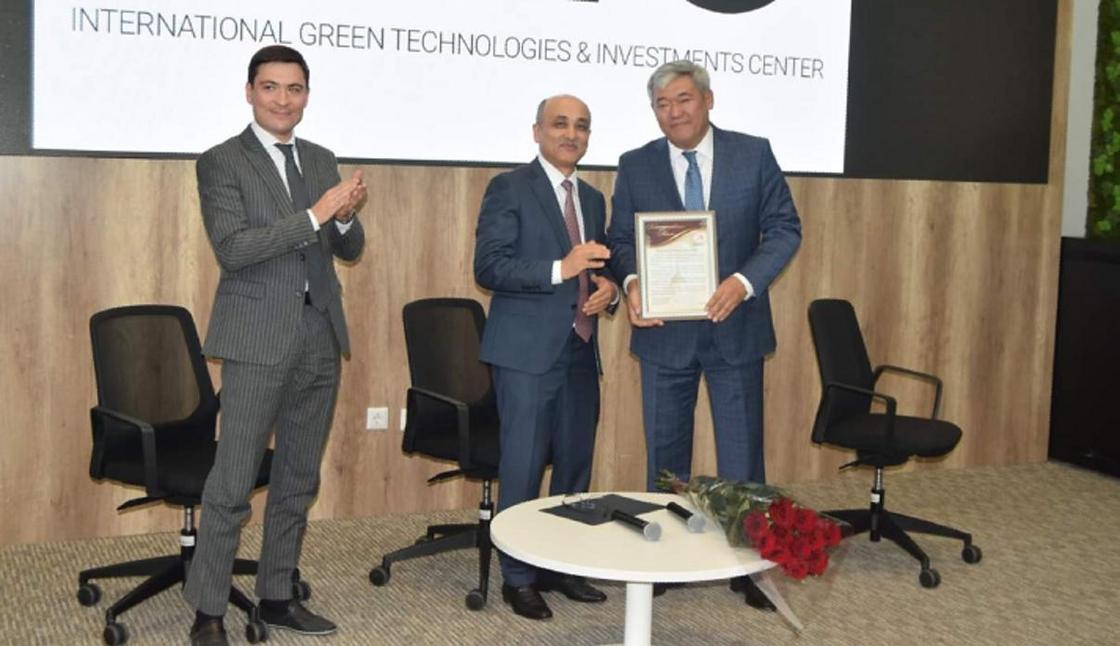 Рамазан Жампиисов возглавил Международный центр зеленых технологий