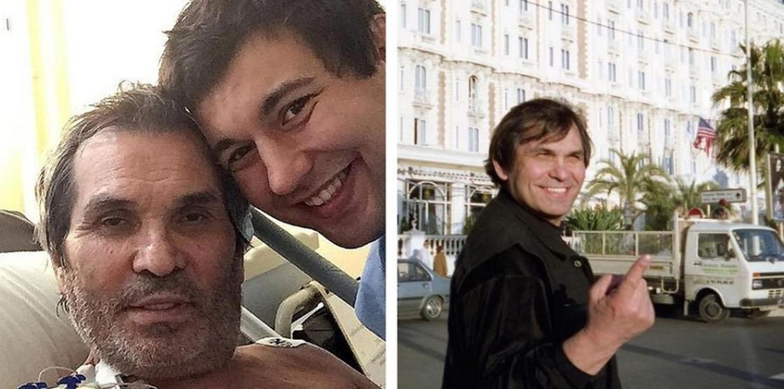 Бари Алибасов и его сын. Скриншот: Instagram