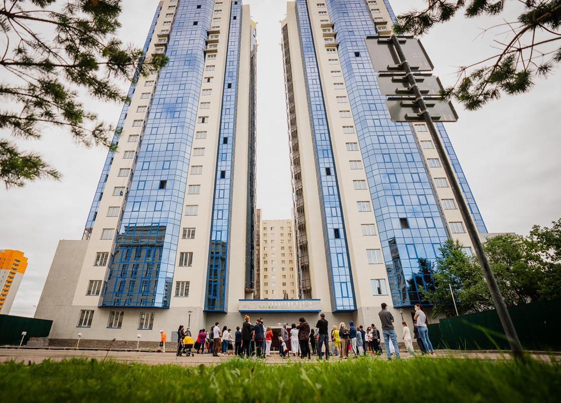 Завершено строительство восьмилетнего долгостроя в Нур-Султане