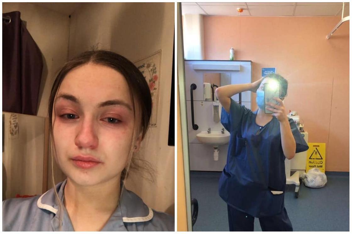 Юная медсестра, работающая по 13 часов: Находиться дома – это привилегия
