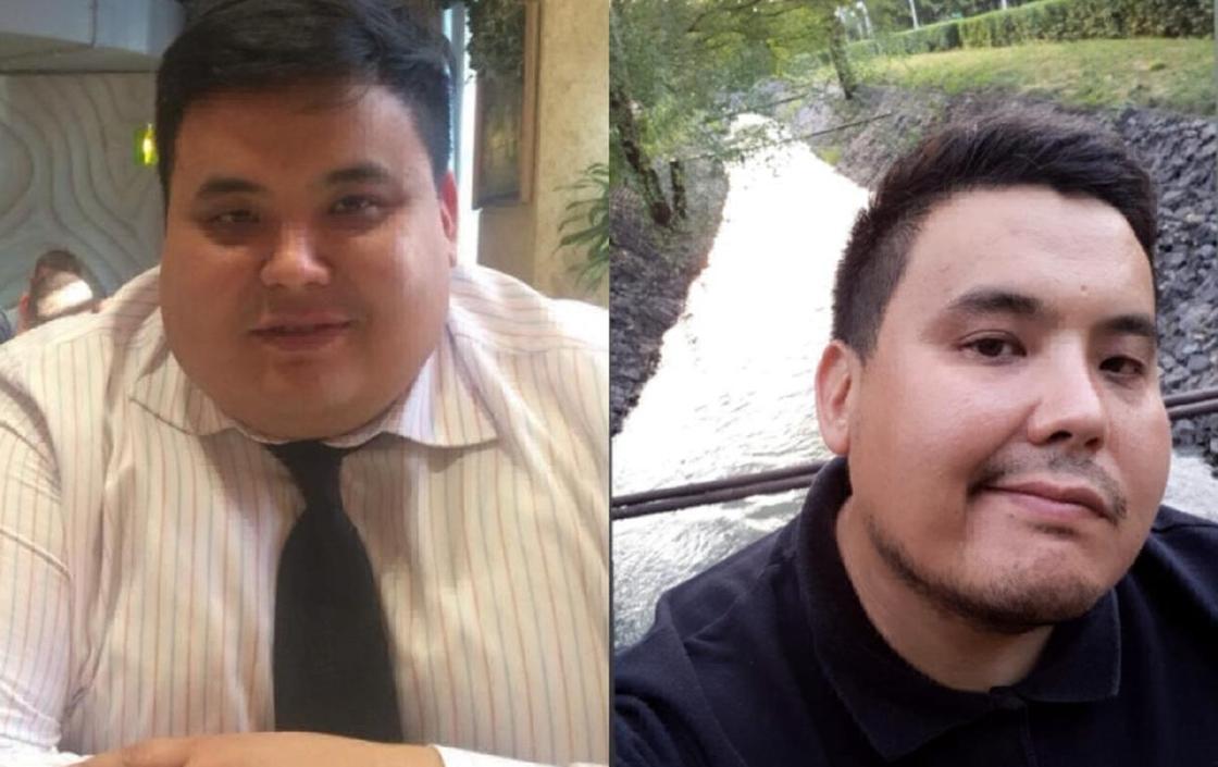 """17.09 """"Девушки не хотели со мной общаться"""": алматинец похудел на 30 килограмм"""