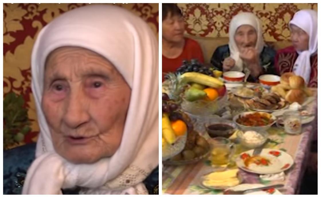 104 жастан асқан алтын құрсақ ана ұзақ өмір сүрудің сырымен бөлісті