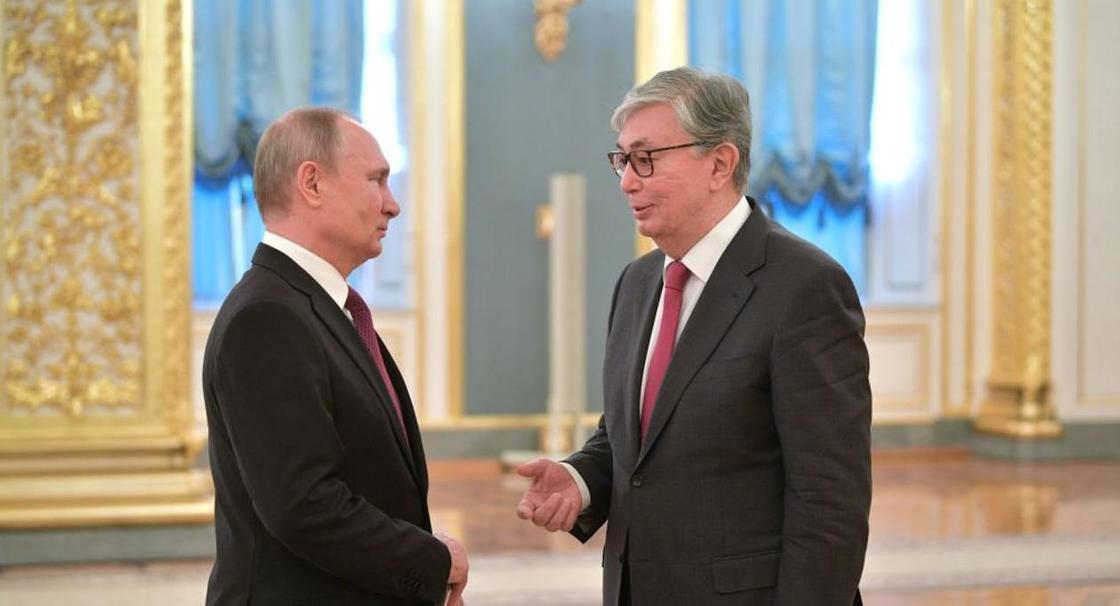 Путин пригласит Токаева на празднование 75-летия Победы