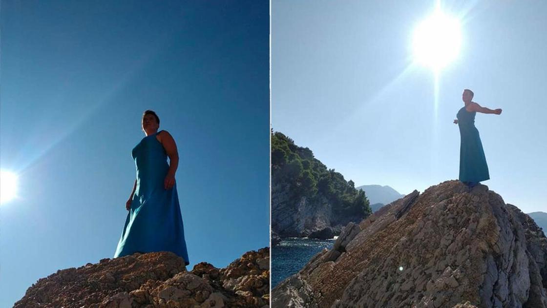 Экс-депутата Верховной Рады высмеяли за фотосессию на море