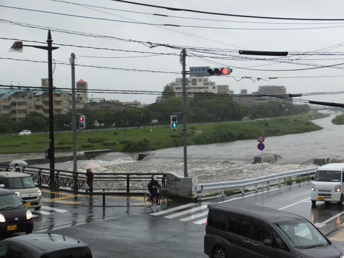 Японию затопило ливнями: 52 человека погибло