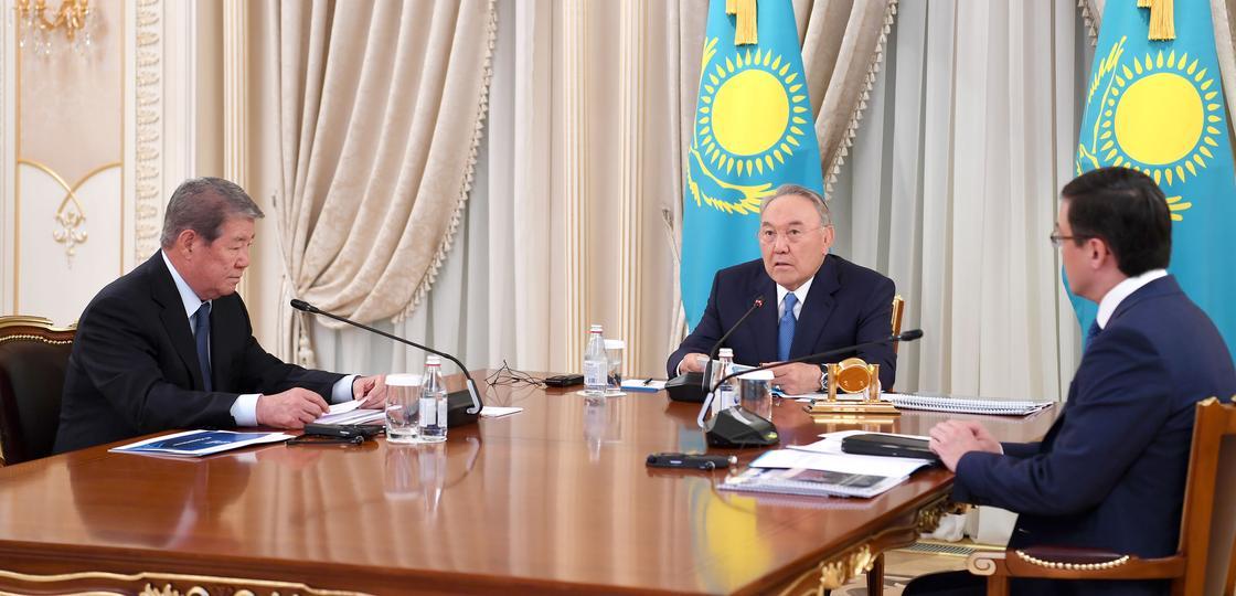 """Назарбаев похвалил руководство """"Самрук-Казына"""" за хорошую работу"""