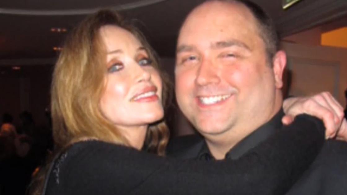 Таня Робертс с мужем Барри