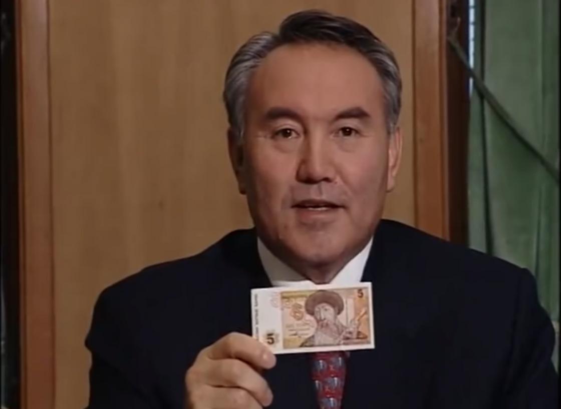 Нұрсұлтан Назарбаев. Фото: ҚР президенті телерадиокешені видеомұрағатынан кадр