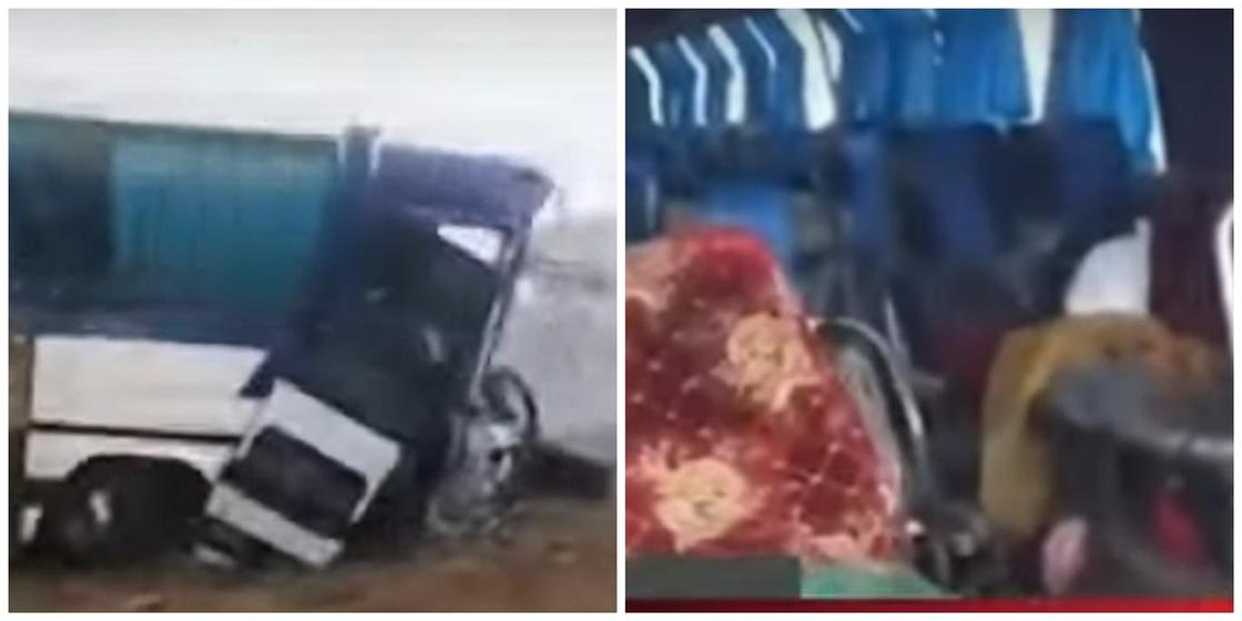 Попавший в ДТП автобус с казахстанцами в России перевозил нелегальных мигрантов