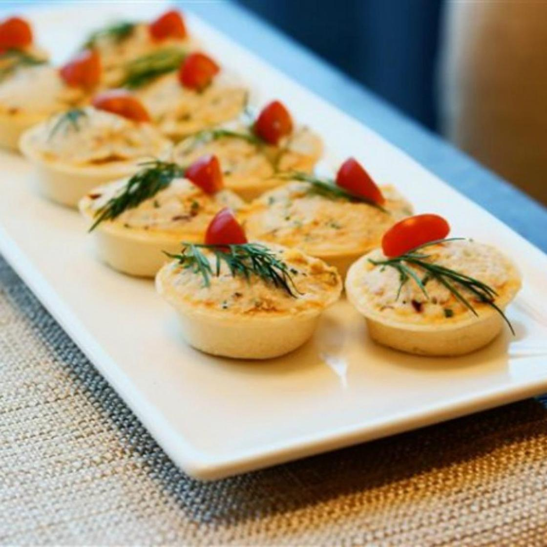 Тарталетки с начинкой: яичный паштет