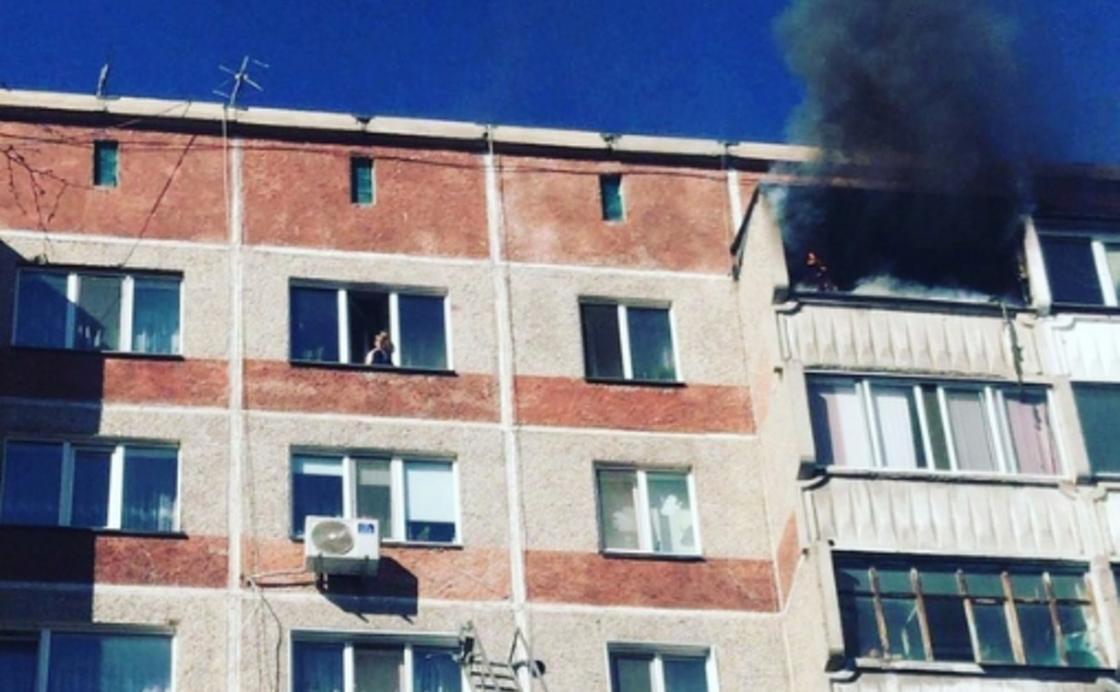 Оқиға орнынан фото: vk.com/Типичный Петропавловск