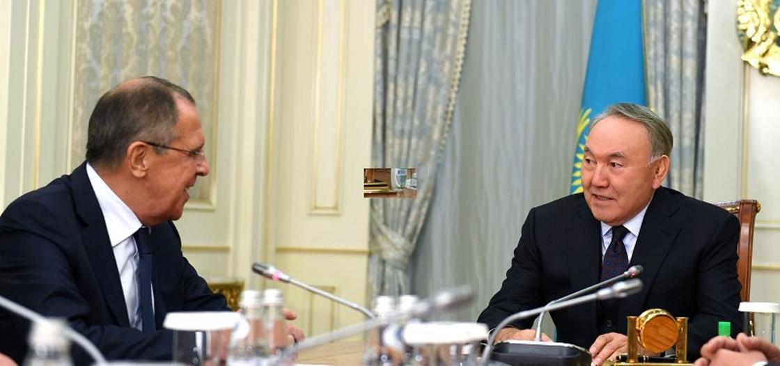 """""""Один из наиболее опытных и мудрых руководителей"""": Лавров о Назарбаеве"""