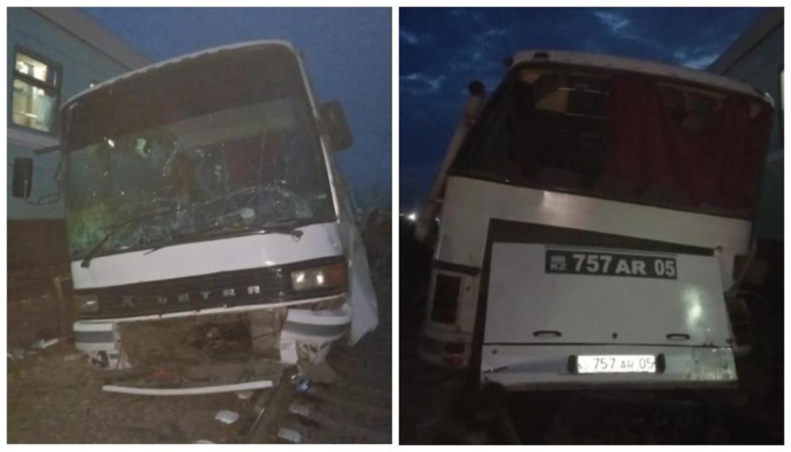 Полиция рассказала подробности аварии с участием поезда