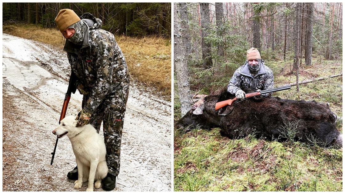 Александр Емельяненко убил лося и попал под шквал критики