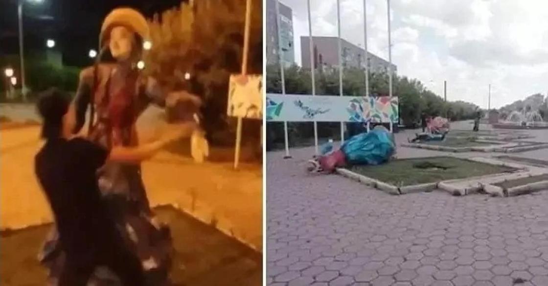 Малолетних вандалов освободили от уголовной ответственности в Темиртау