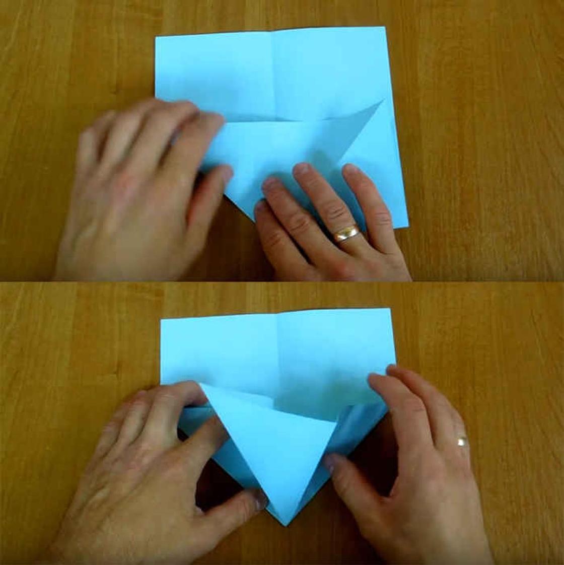 Как сделать из бумаги самолет-истребитель F-15