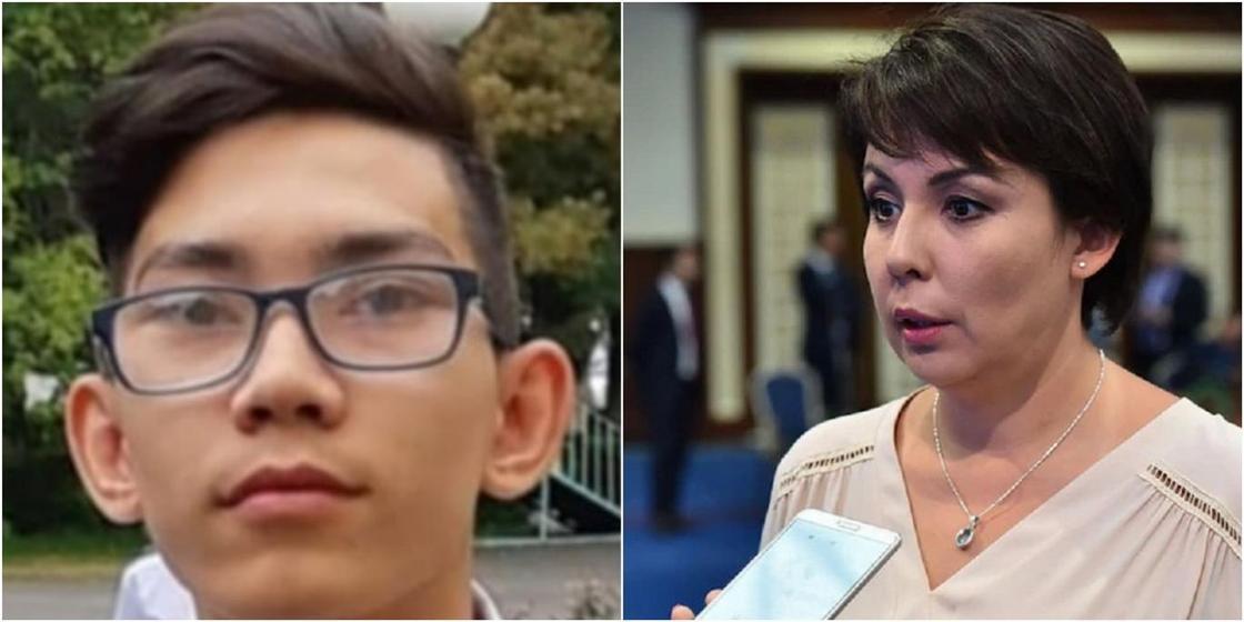 Аружан Саин обратилась к сбежавшему из интерната в Алматы подростку