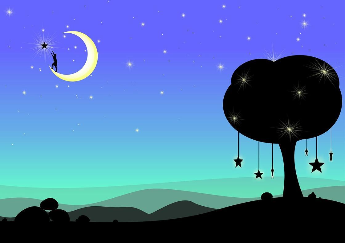 Лунный календарь на апрель 2020: фазы Луны