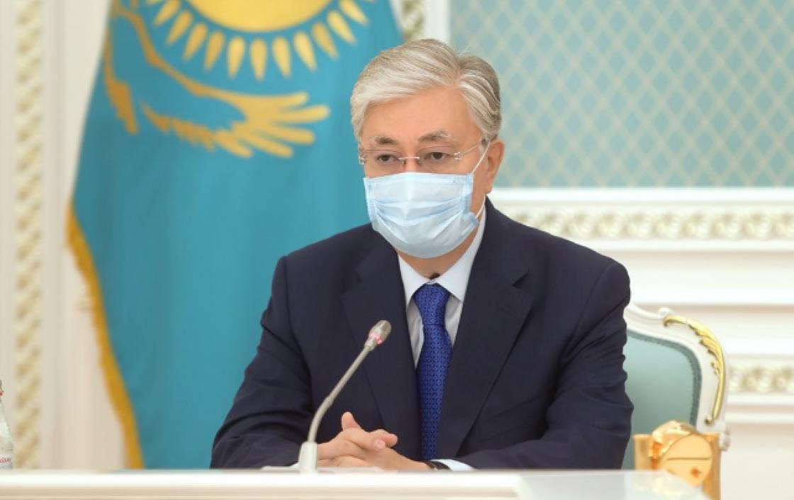 """Токаев о ситуации в Казахстане: """"Сейчас мы на войне"""""""