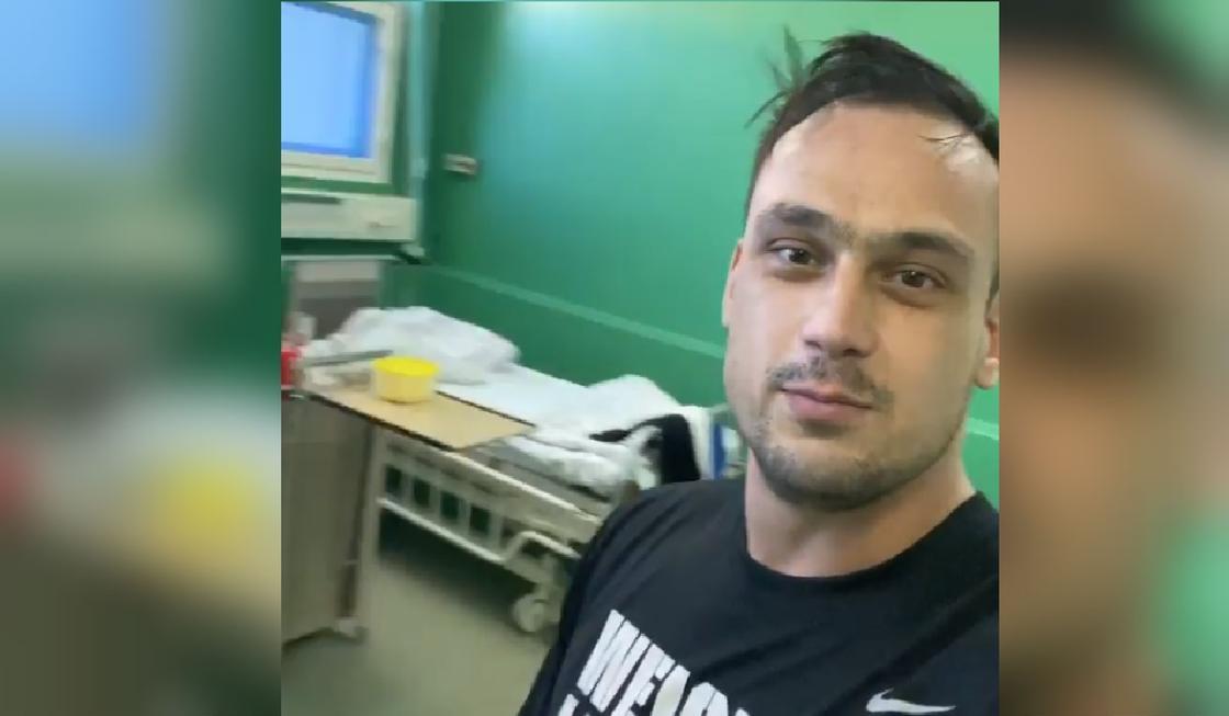 Илья Ильин попал в больницу (видео)