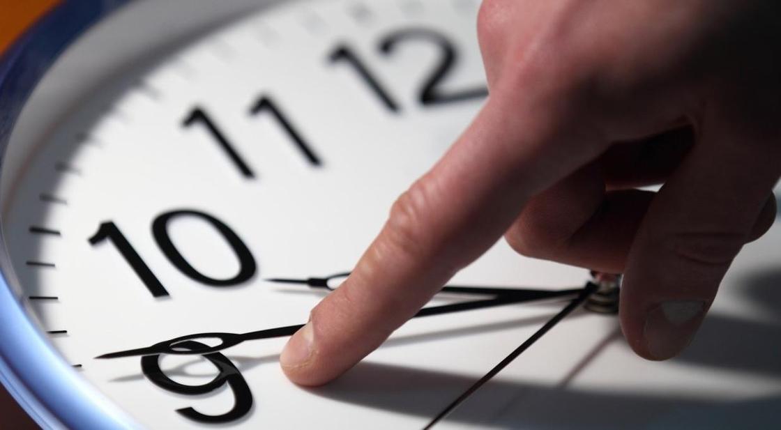 Время переведут на час назад в Кызылординской области