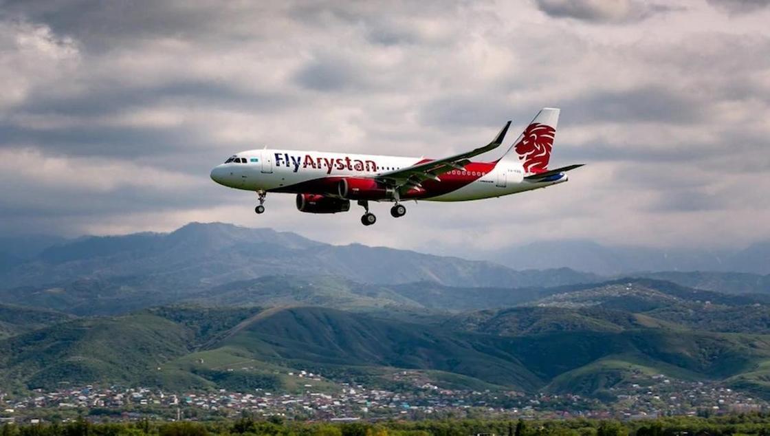 «Было страшно»: вылетевший из Алматы в Шымкент самолет Fly Arystan вернулся из-за сбоя