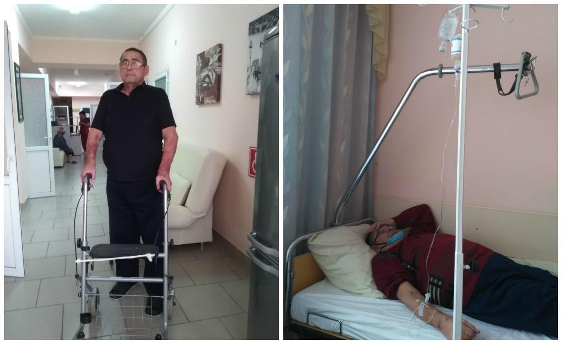 Николай Панючкин в больнице