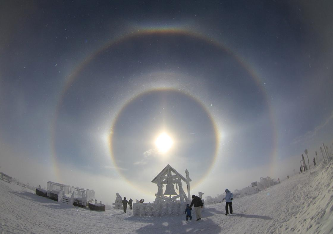 Ореол вокруг солнца