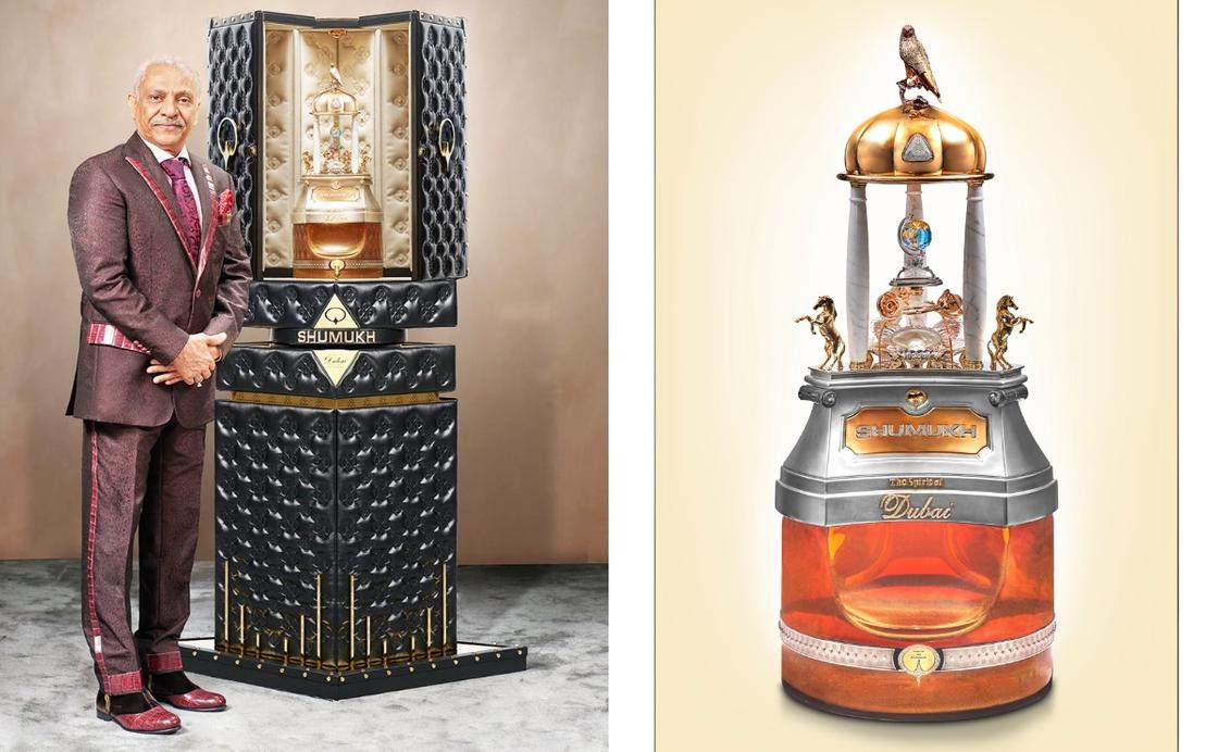 Самые дорогие в мире духи стоимостью 491 млрд тенге представили в Дубае