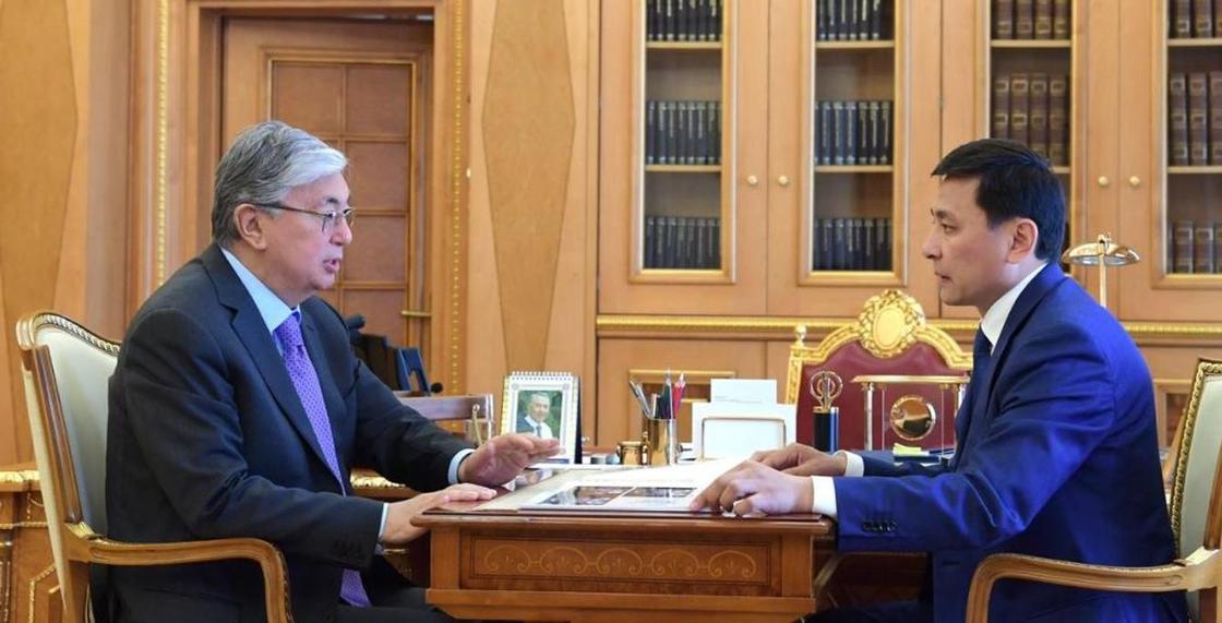Токаев поручил Кульгинову изучить ситуацию вокруг строительства LRT