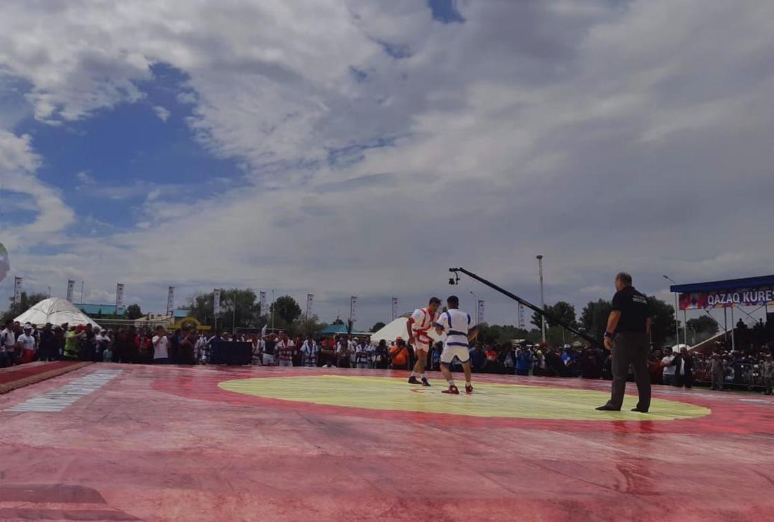 Спорт без границ: международный турнир Гран-при по казакша курес прошел в ВКО