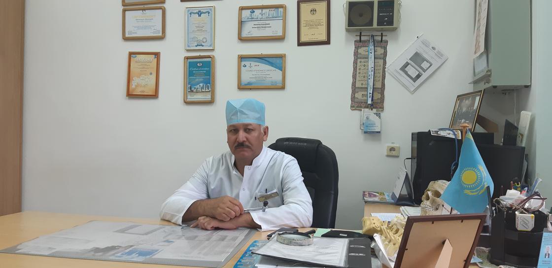 Дәрігер -нейрохирург Ш.Оразмаханулы: «Басын бастасаң, қалғаны соңынан ереді»