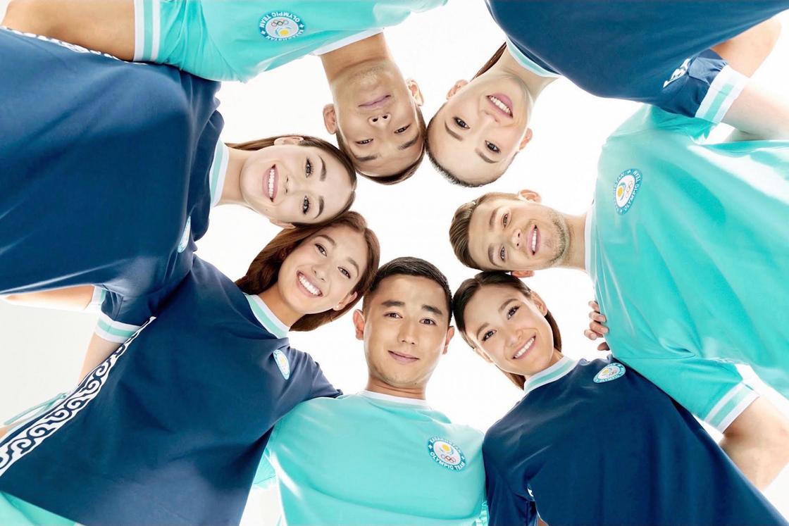 Новая форма олимпийской сборной Казахстана