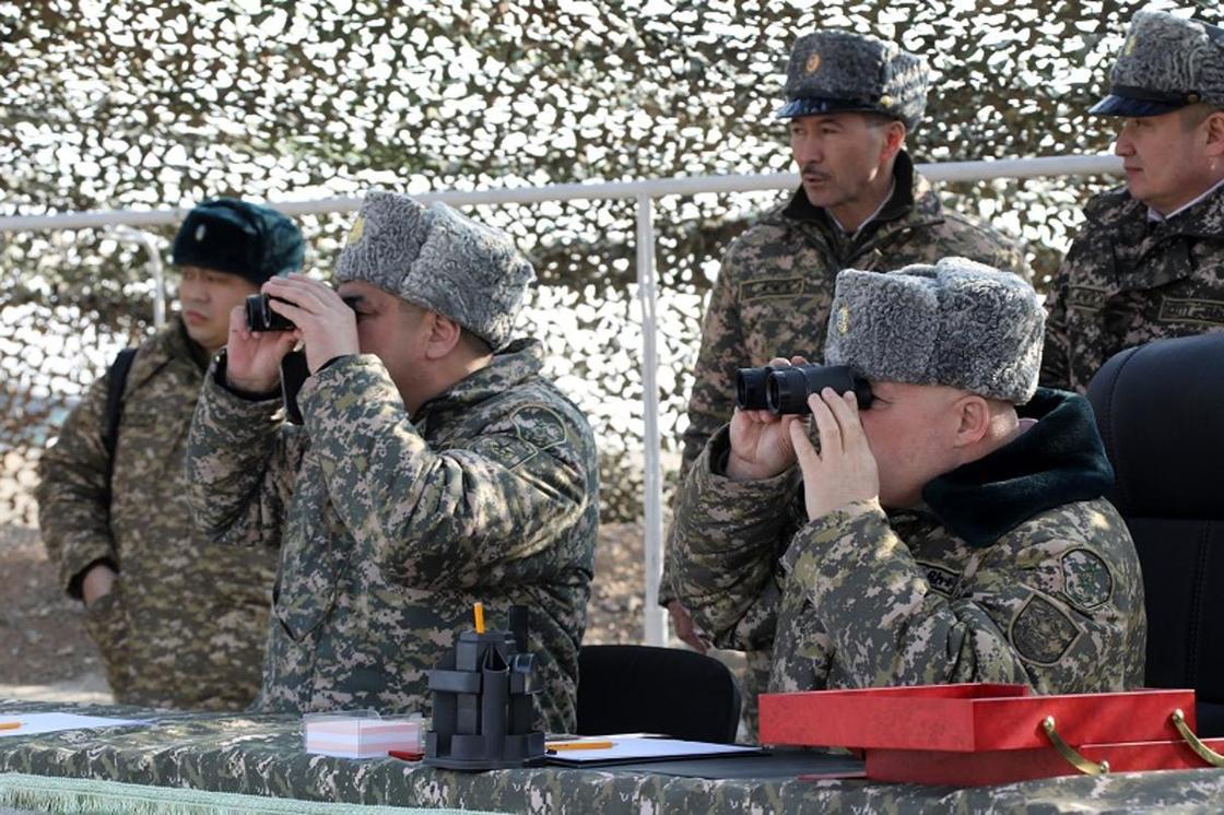 Комиссия Минобороны проверила ход боевой подготовки войск