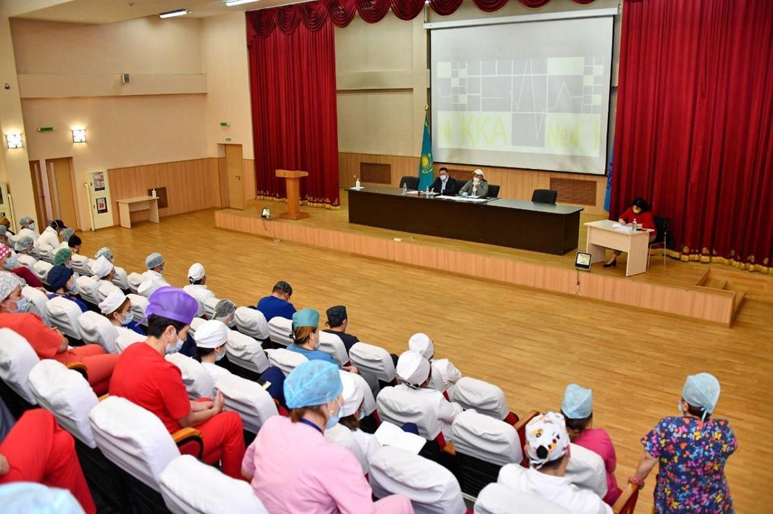По поручению акима города Алматы