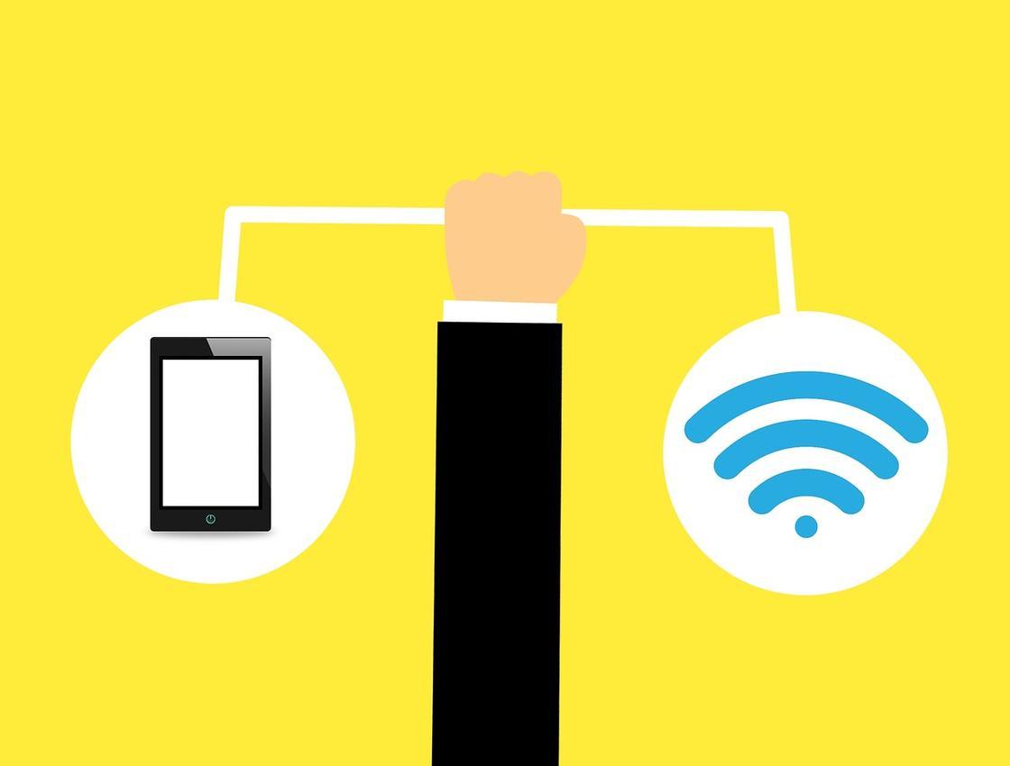 Телефон и Wi-Fi