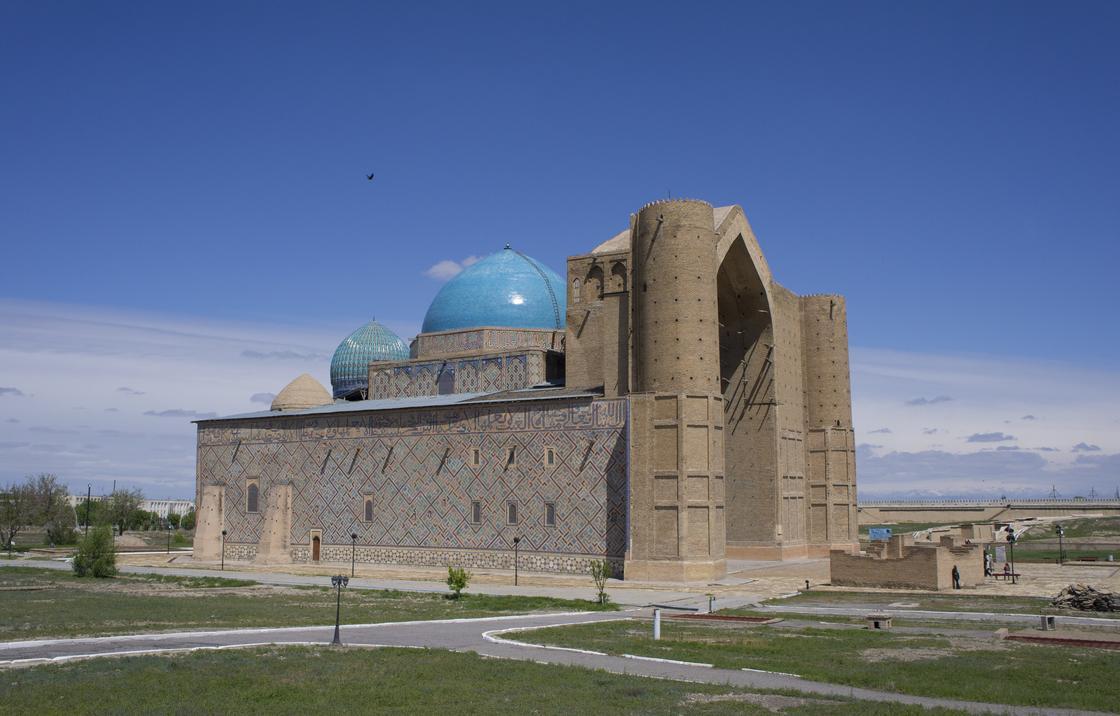 мавзолей Ходжи Ахмеда Ясави