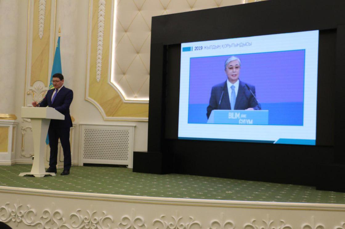 Пресс-секретарь Токаева рассказал, чем президент занимался в 2019 году