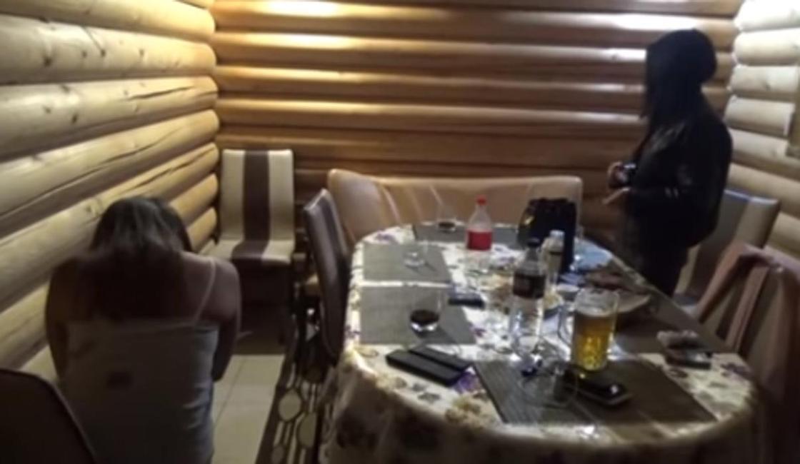 Облаву на проституток устроили в Жамбылской области (видео)