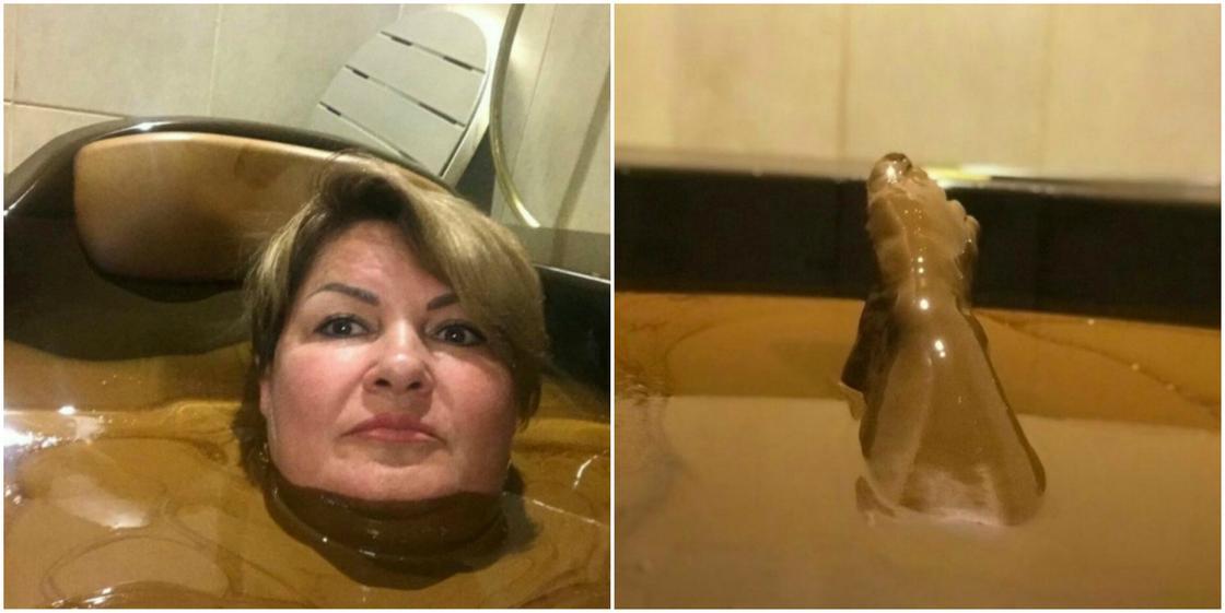 Принявшую нефтяную ванну чиновницу не уволили