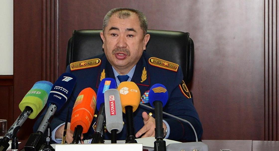 Тургумбаев: Более тысячи руководящих должностей сократили в МВД