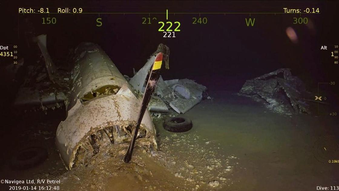 Авианосец времен Второй мировой войны найден на дне Кораллового моря (фото)