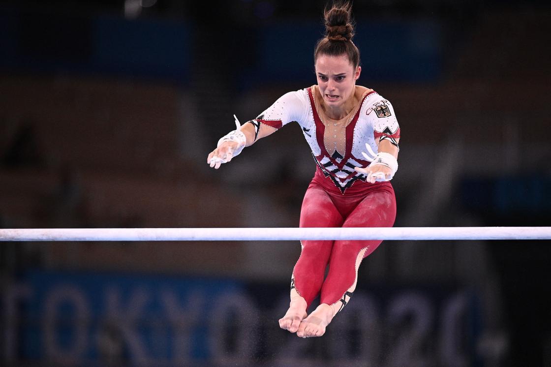 Гимнастка Сара Восс из Германии